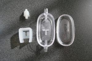 鼻水キャッチャーを分解すると部品が4つ
