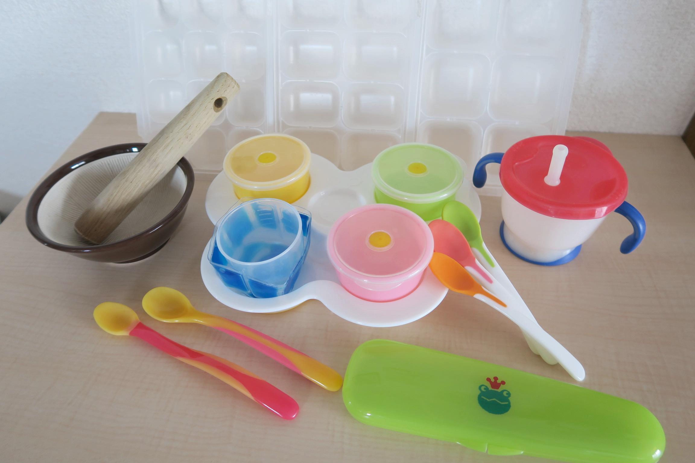離乳食作りに必要な道具5選、これだけあればスタートできます!