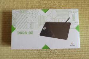 XP-PEN Deco 02パッケージ