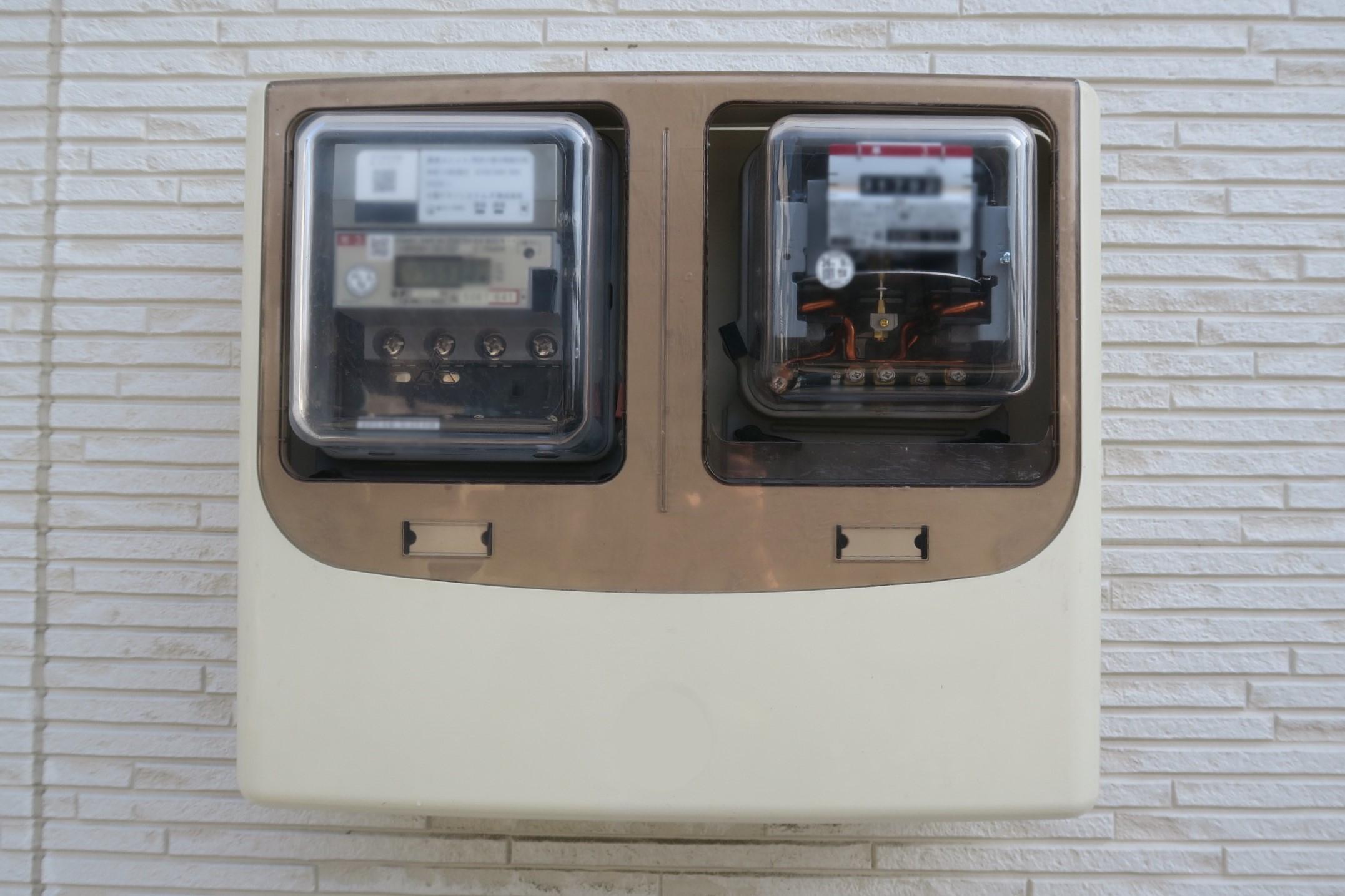 わが家の電気メーター