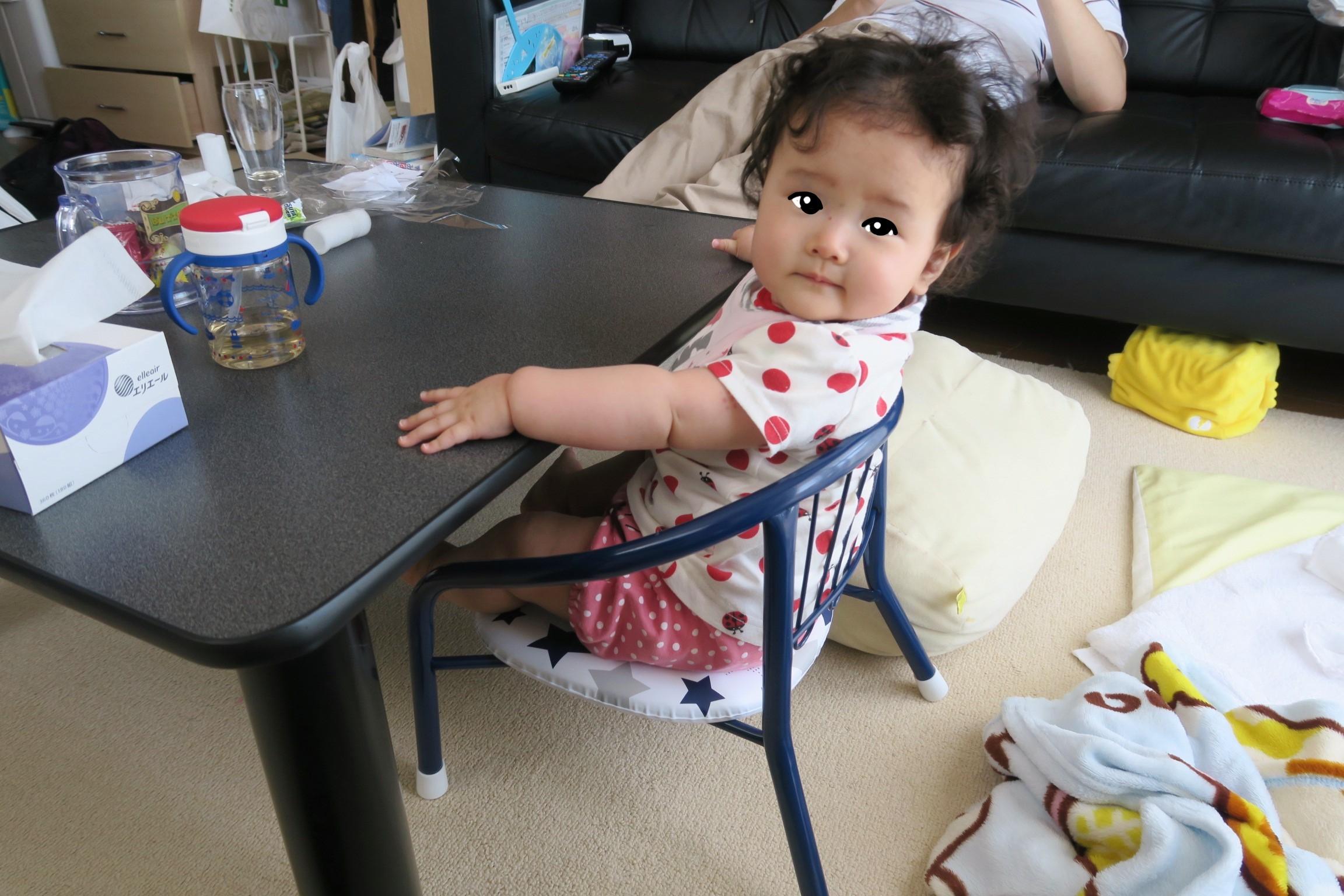 離乳食をこたつ机で!赤ちゃん・子ども用の椅子のおすすめ